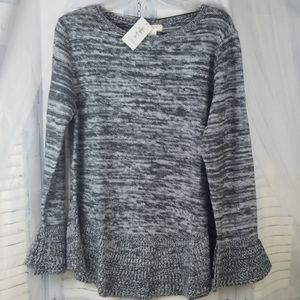 Style & Co Women's Ruffle Pullover Sweater